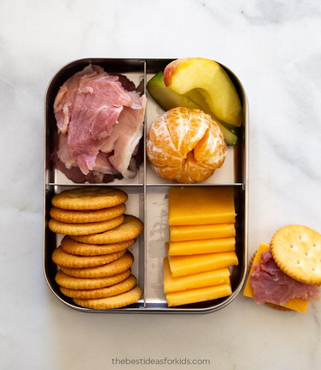 Homemade Lunchable