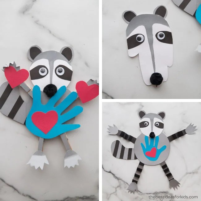 Kissing Hand Crafts and Activities