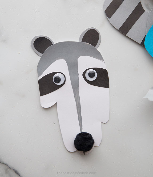 Raccoon Handprint