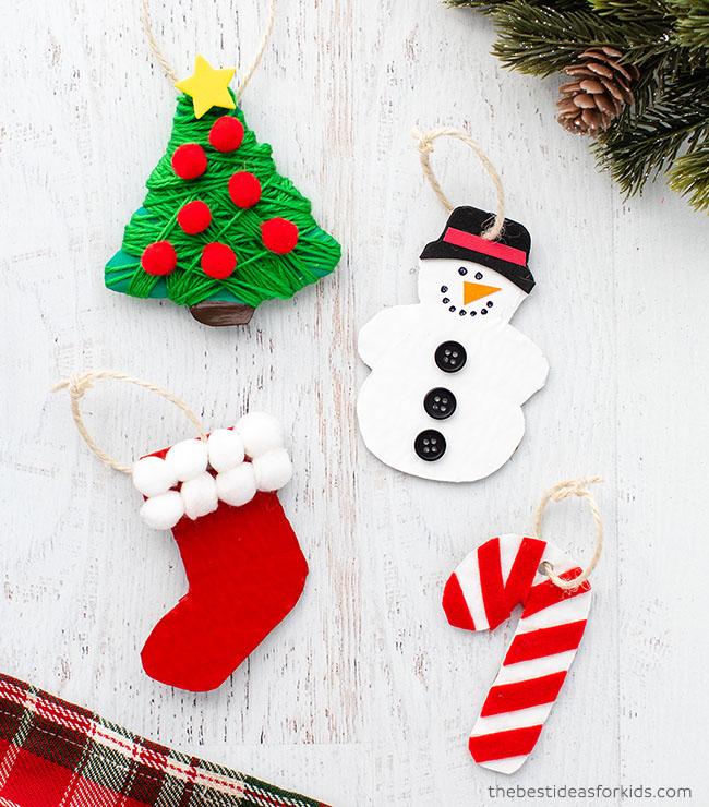 Cardboard Ornaments Christmas