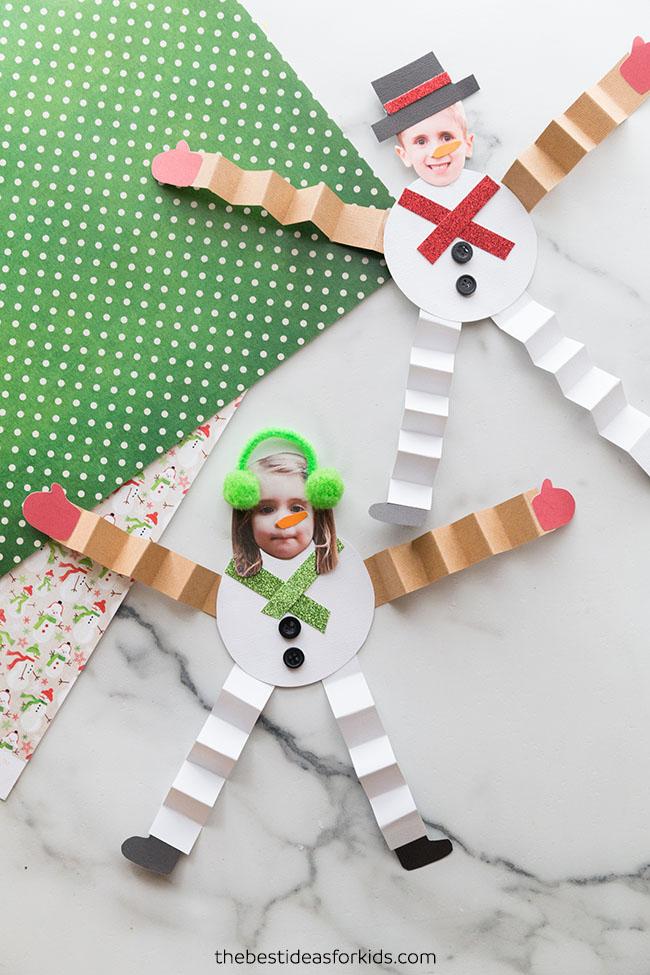 Snowman Craft Paper