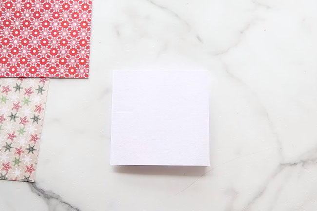 Trim Cardstock to Card Size