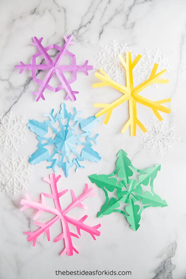 Snowflake Templates Free