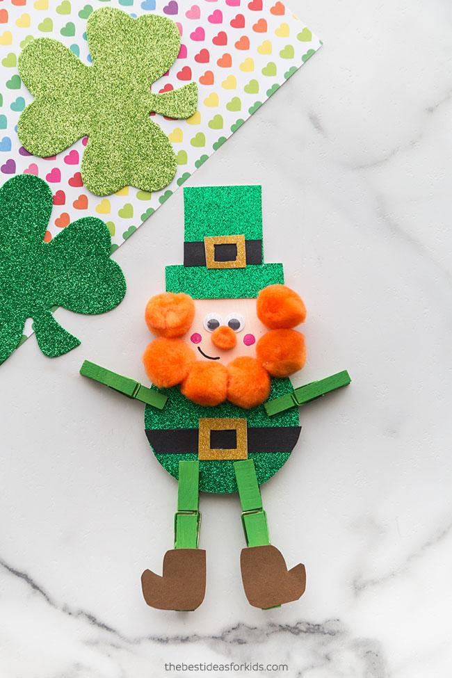 Leprechaun St Patrick's Day Craft