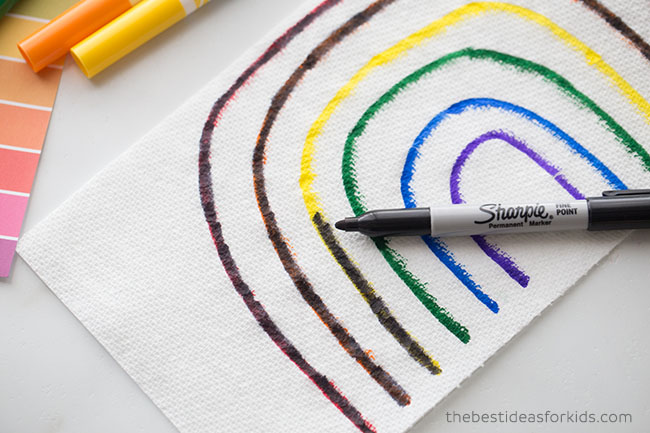 Add Permanent Marker on top of Rainbow
