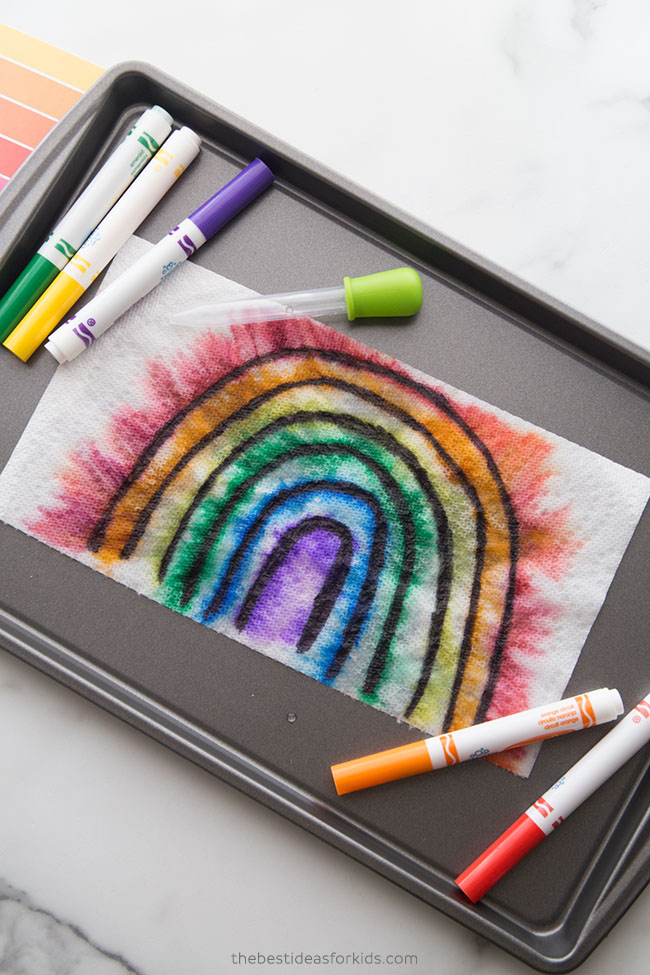 Rainbow Experiment for Kids