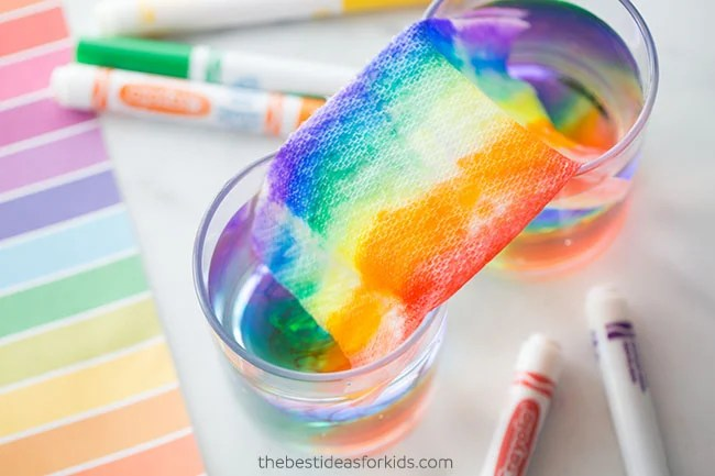 Grow Rainbow Experiment