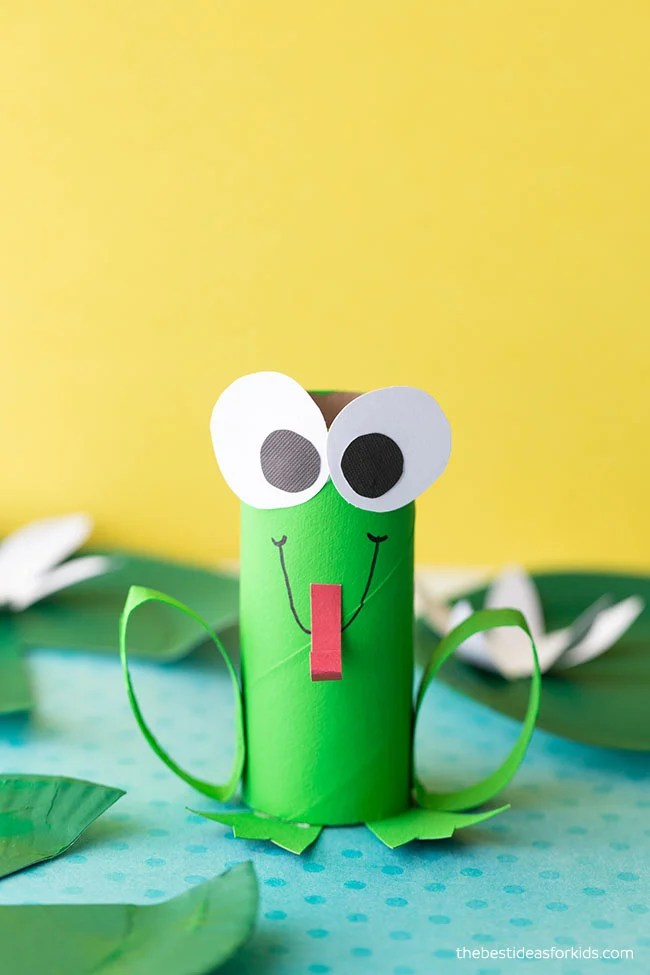 Frog Toilet Paper Roll