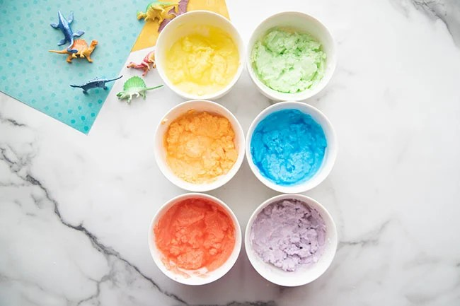 Make different color batches