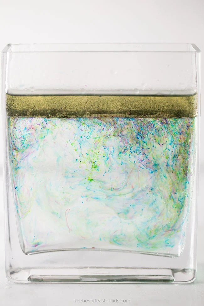 Oil and Water Experiment for Kids