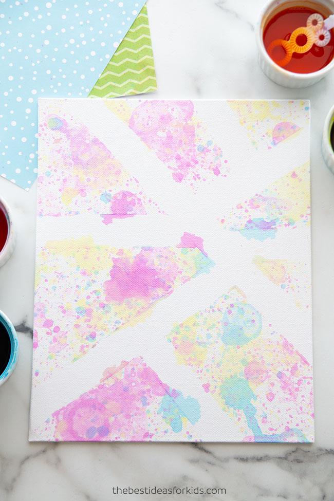 Canvas Bubble Art
