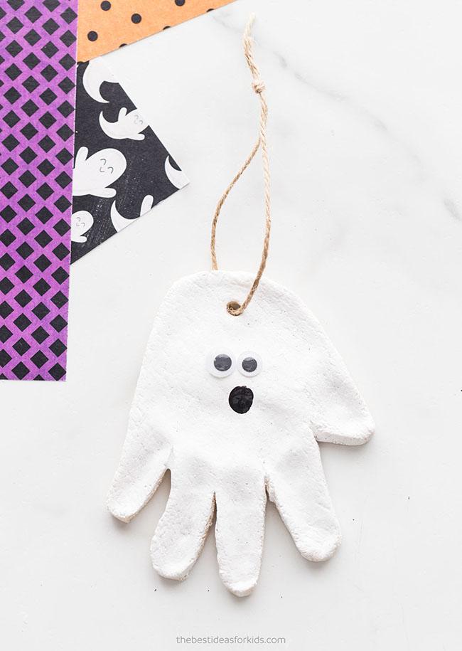 Ghost Salt Dough Craft
