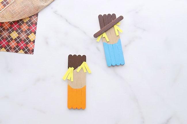 Paint the Popsicle Sticks