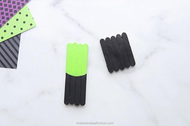 Paint Popsicle Sticks