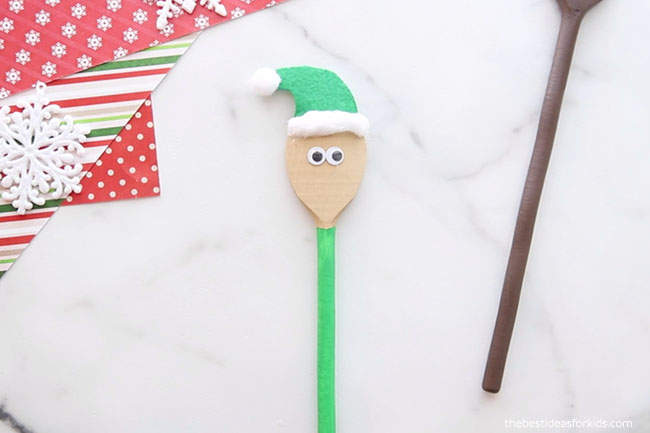 Add Hat to Elf Spoon