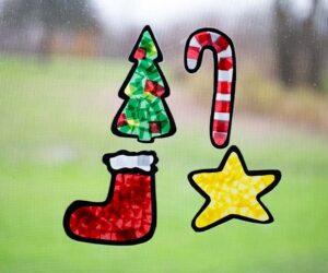 Christmas Suncatchers