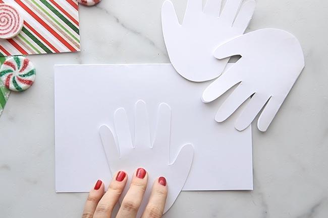 Cut out Handprint