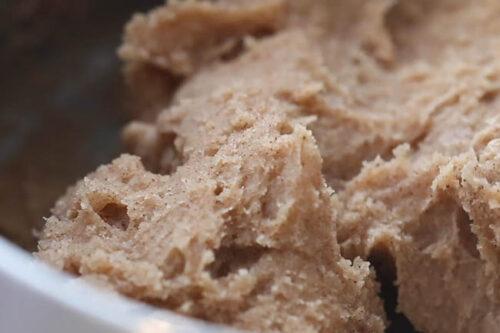 Mix Gingerbread Playdough in Pot