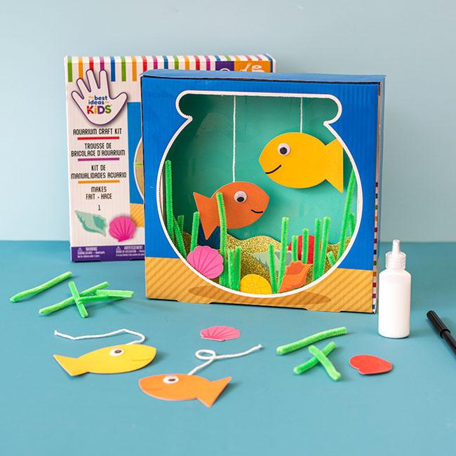 Aquarium Craft Kit for Kids