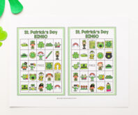St Patrick's Day Bingo Printable Cover