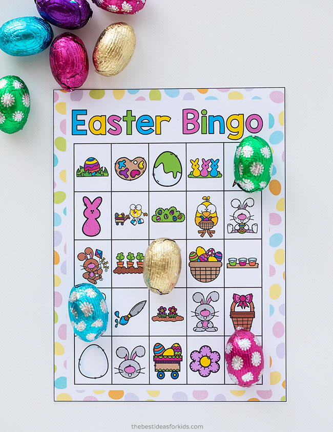 Easter Bingo Printable Cards
