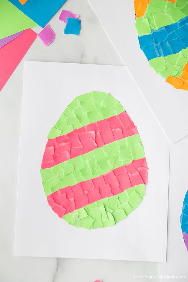 Easter Scrap Paper Craft