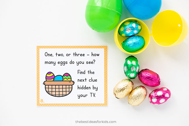 Free Printable Easter Scavenger Hunt