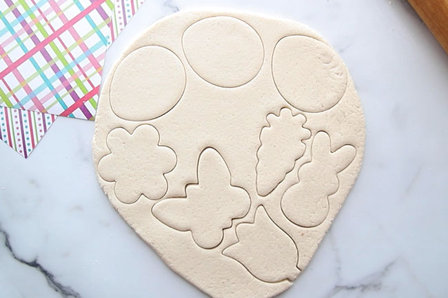 Use Cookie Cutters on Dough