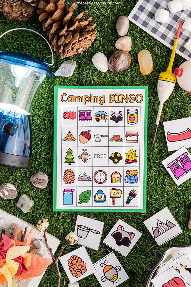 Free Printable Camping Bingo
