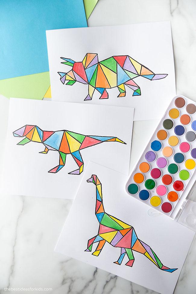 Dinosaur Art Project for Kids