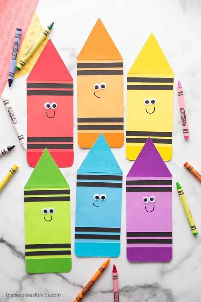 Printable Crayon Template