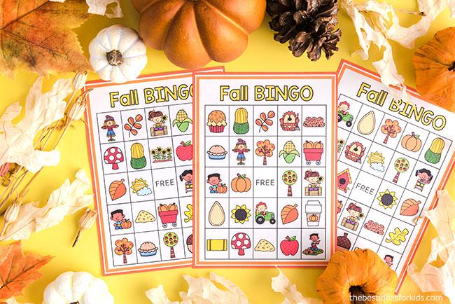 Printable Fall Bingo