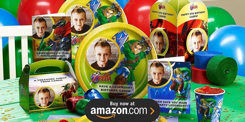 Decorations Zelda Party Birthday