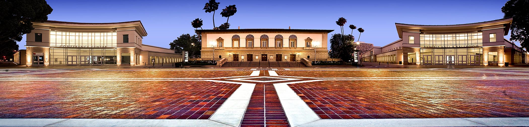 Map Convention Center Pasadena Ca