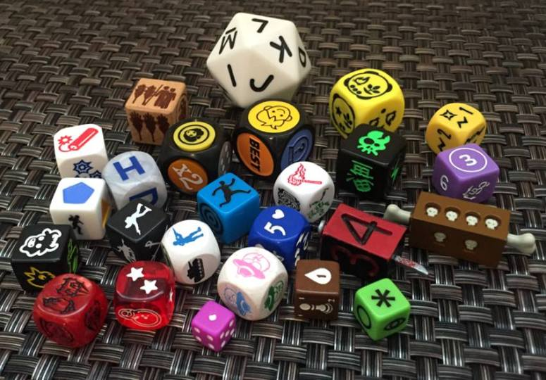 Dice  Dice  and More Dice   Photo Quiz  dice games