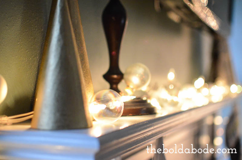 Christmas Lights Half Strand Out