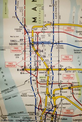 1960 s Subway Map   Mike Bonte  Photos   Ramblings 1960 s Subway Map