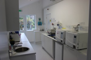The new Decontamination Room
