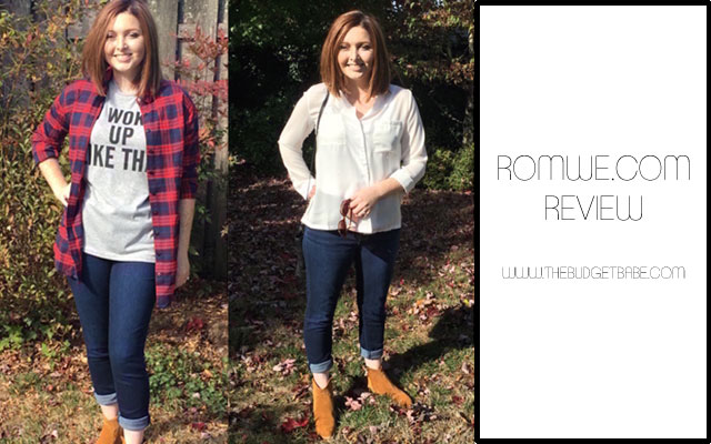 Review  Romwe com Shopping Experience   The Budget Babe   Affordable     Romwe com review at thebudgetbabe com fashion blog