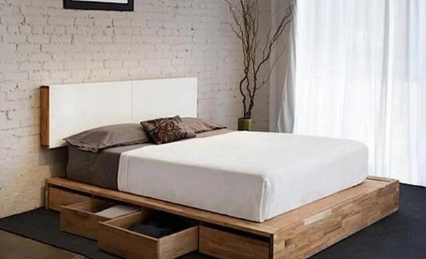 DIY Storage Bed Projects     The Budget Decorator DIY Storage Beds