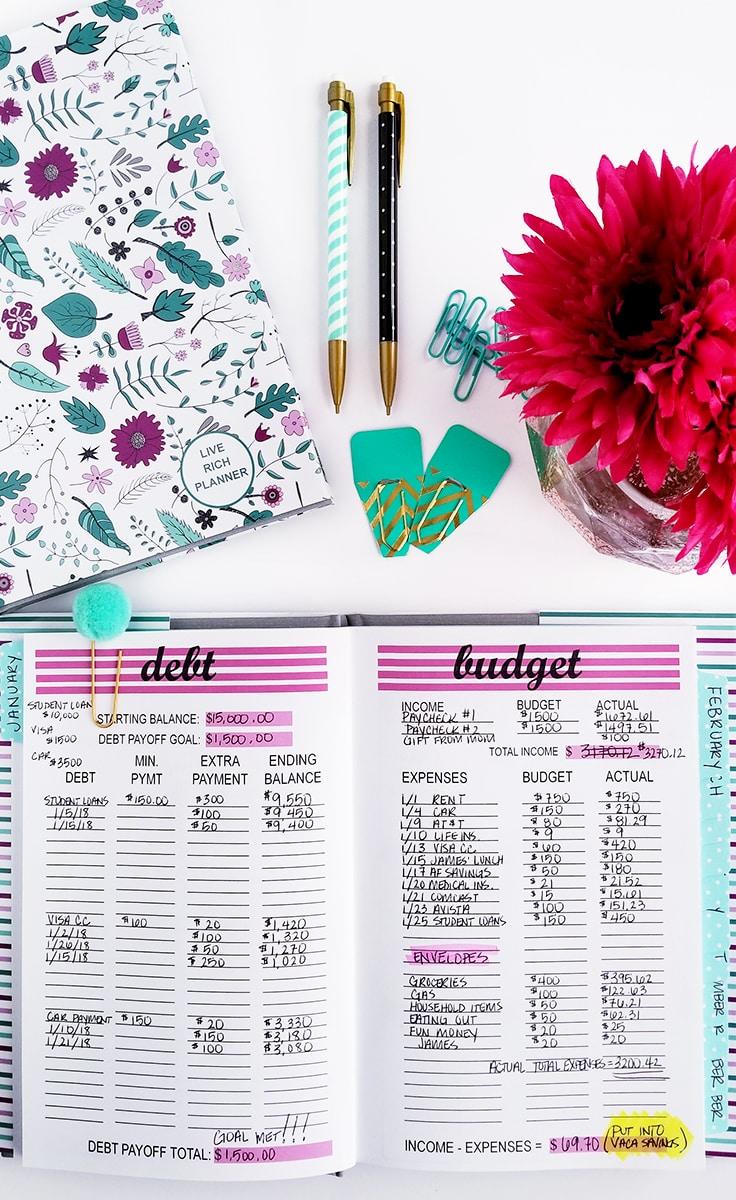 Budget Printable Budget Mom