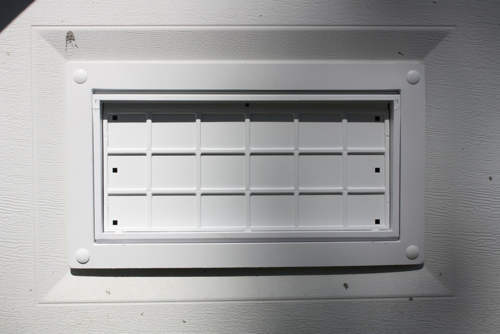 Flood Flaps Ffnf05gd G Garage Door Flood Vent Gray