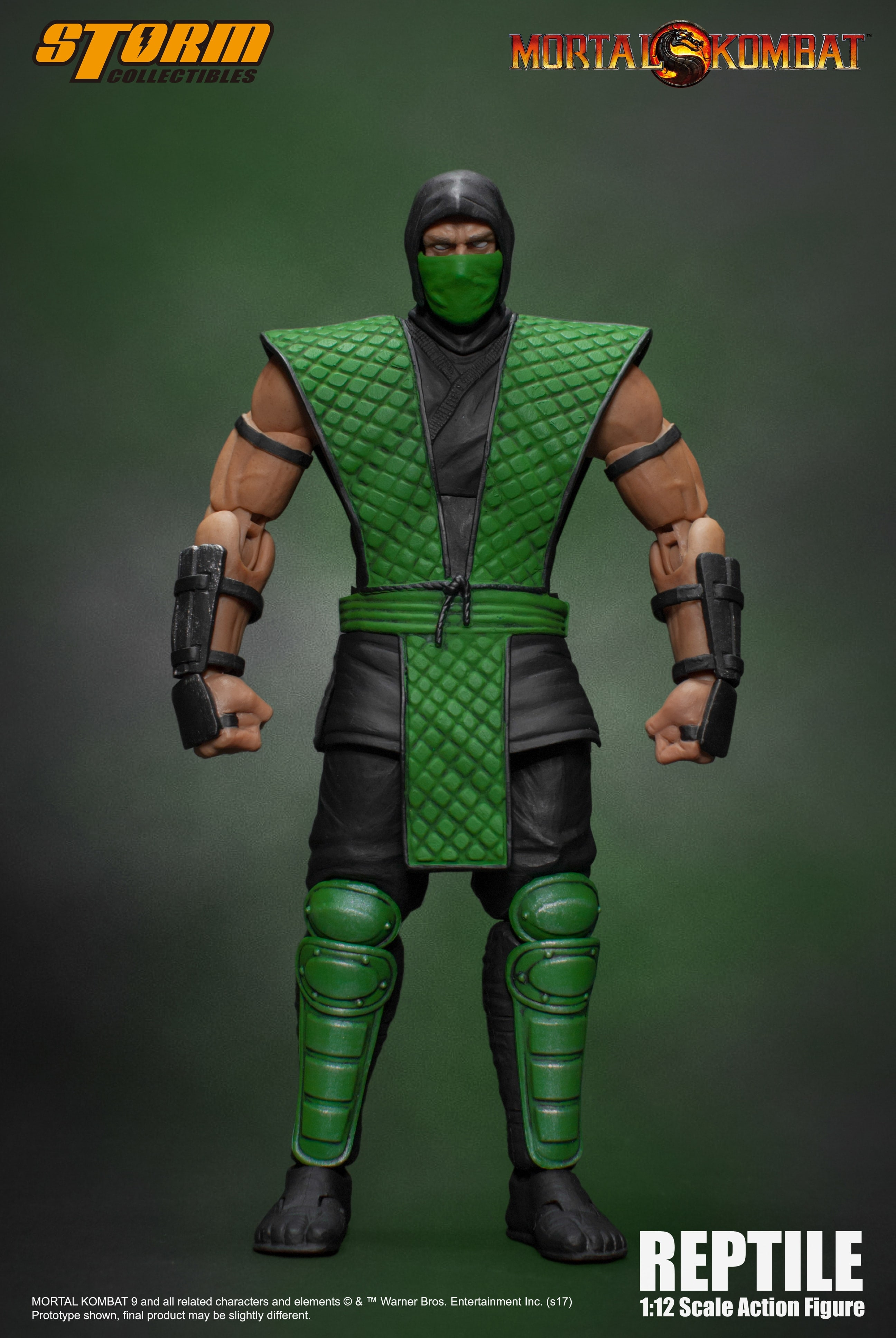 Storm Collectibles Mortal Kombat Reptile