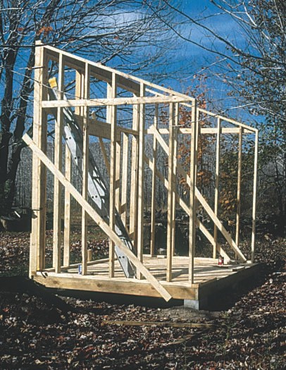 Simple Garden Shed Plans