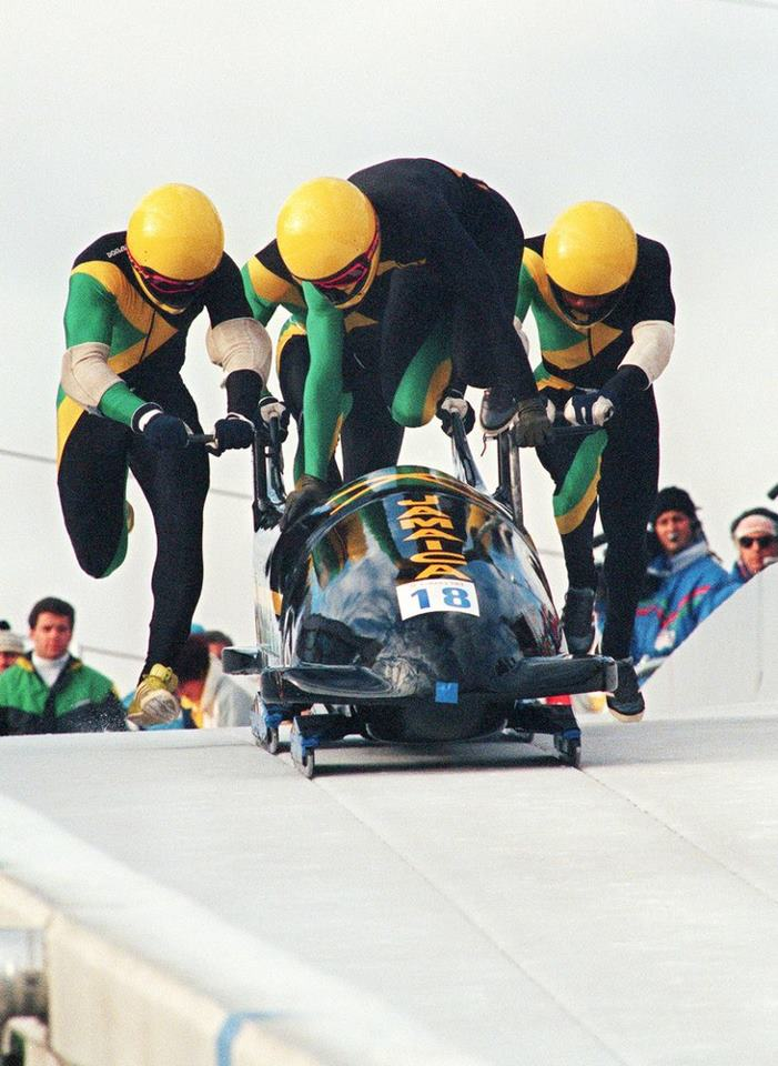 1988 Winter Olympics Bobsleigh