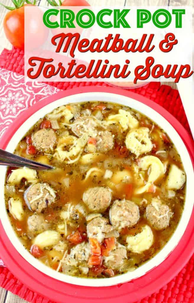 Recipe Tortellini Meatball Soup