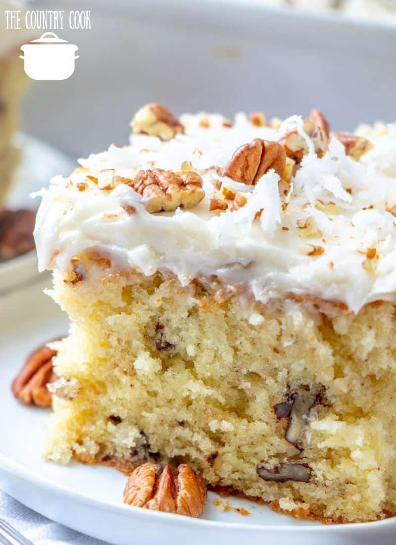 Homemade Italian Cream Cake The Country Cook
