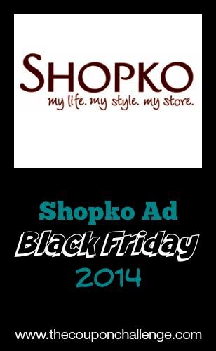 2014 Shopko Black Friday Ad