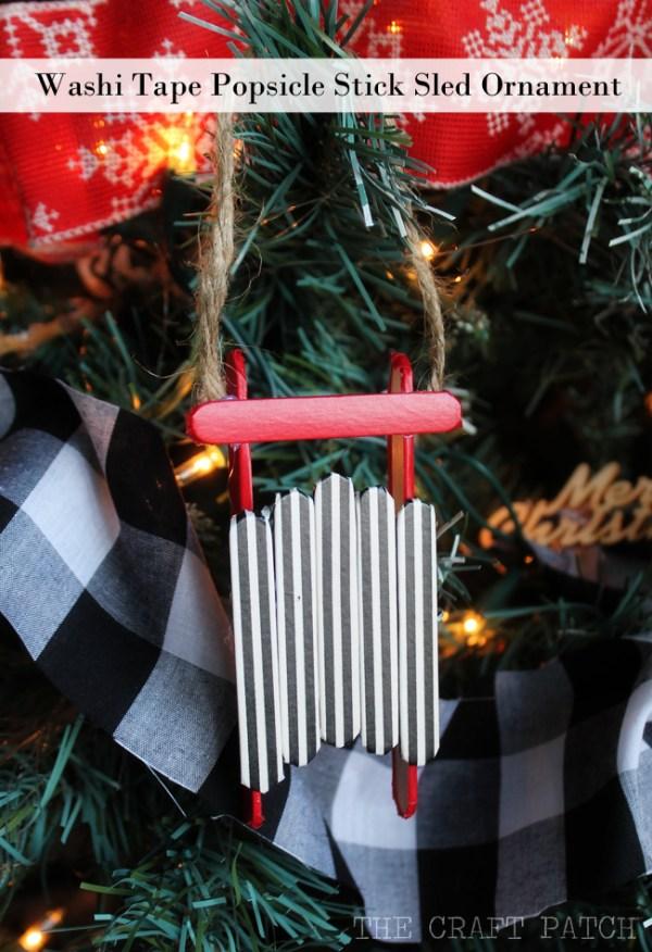 christmas ornaments popsicle sticks # 43