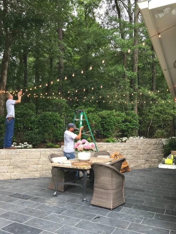 outdoor pendant string lights # 6